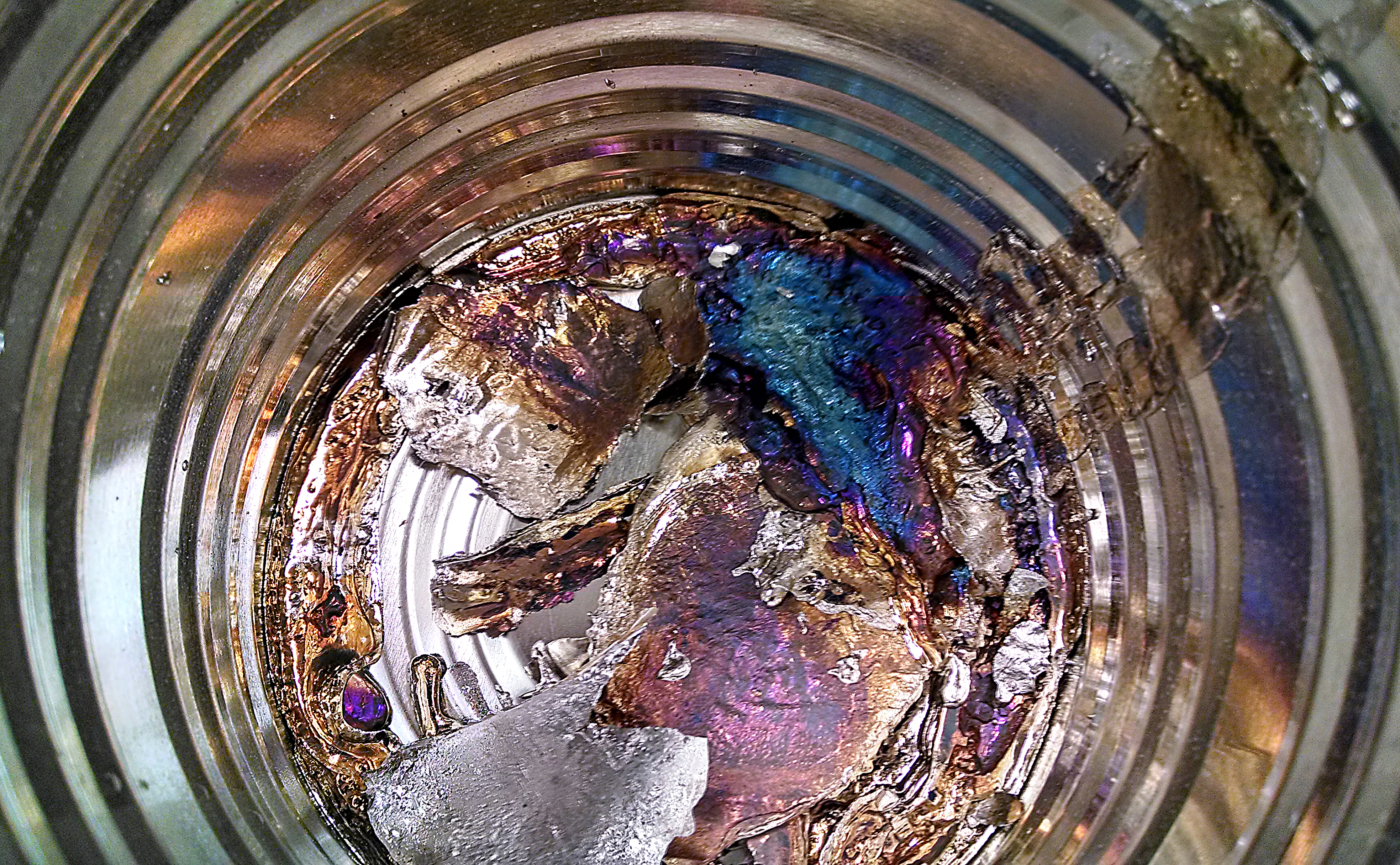 Bismuth Uses In Everyday Life Underside of the bismuth,
